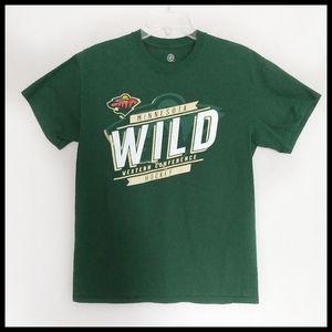 MN Wild T-Shirt - NWOT - Adult Size Medium